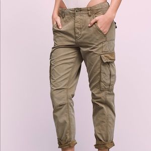 Free People Wild Nothing Utility Cargo Pants